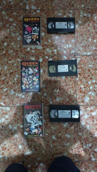 Queen Magic Years 1/2/3 VHS