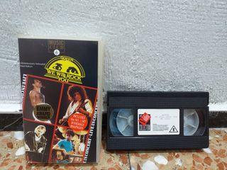 Queen Live Rock Montreal 1981 VHS