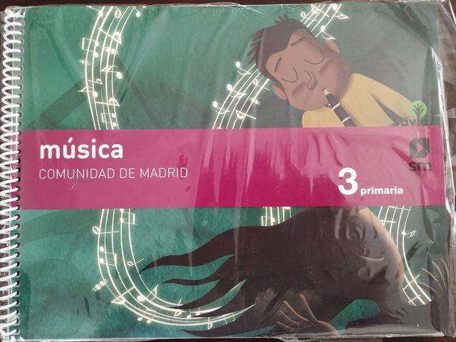 Música 3° primaria SM Savia de segunda mano por 15 € en