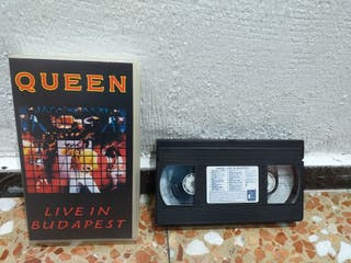 Queen Live in Budapest 1986 VHS