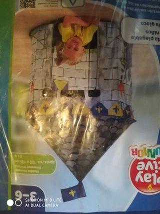 Tienda de campaña, castillo para niños un uso