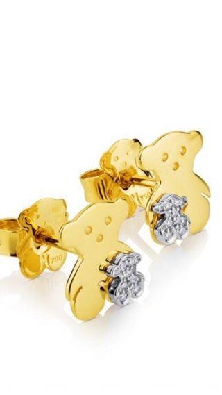 065a913f7c38 Pendientes de oro de segunda mano en la provincia de Girona en WALLAPOP
