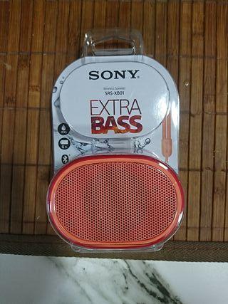 Alta voz Sony XB01 nuevo