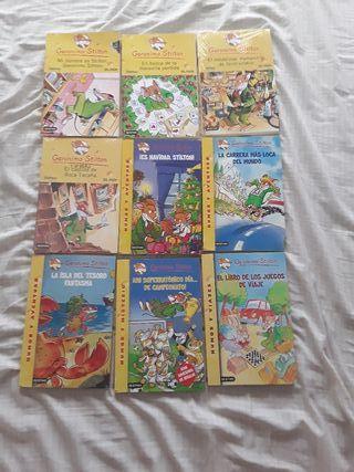 Libros NUEVOS Gerónimo Stilton