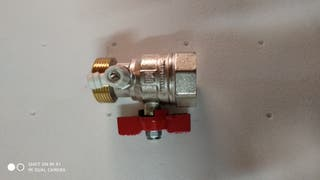 2 llaves nuevas válvulas de corte de 1-1/4 M-H