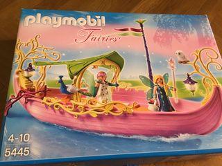 Caja vacía Playmobil 5445 barco de las hadas