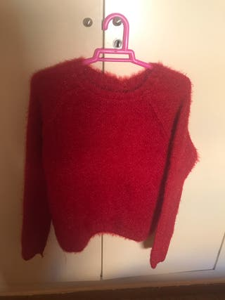 Jersey rojo de pelo