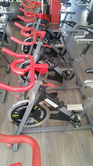 5 bicicletas de spinning