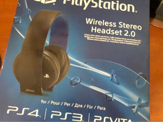 Auriculares estéreo inalámbricos 2.0 para PS4