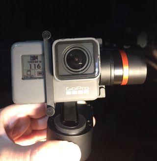 GoPro Hero 5 Black + Gimbal Hohem XG1