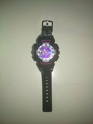 b46206b696df Casio Baby-G Reloj Analógico-Digital Estándar BA-1