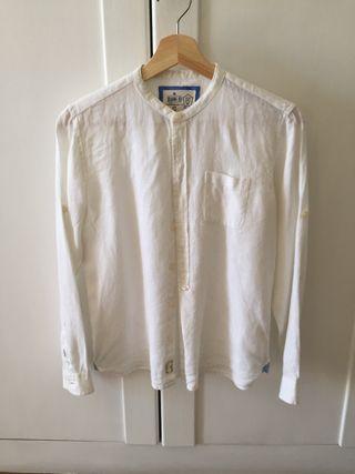 Camisa blanca niño, talla 12