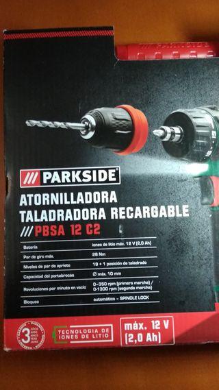 Parkside Atornilladora taladradora recargable