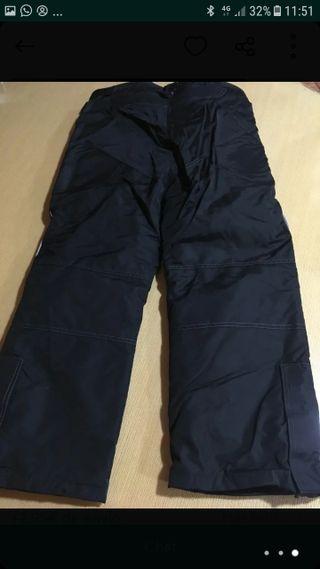 pantalón moto talla s +guantes
