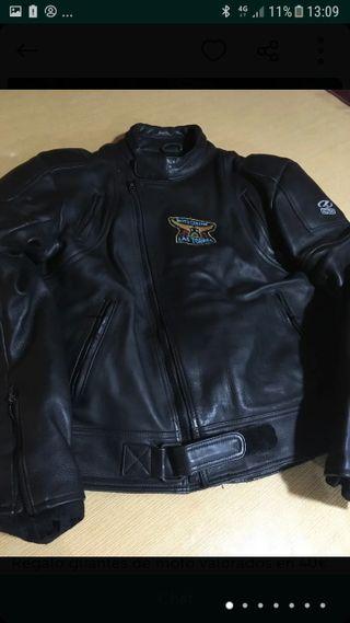 chaqueta moto 100% cuero