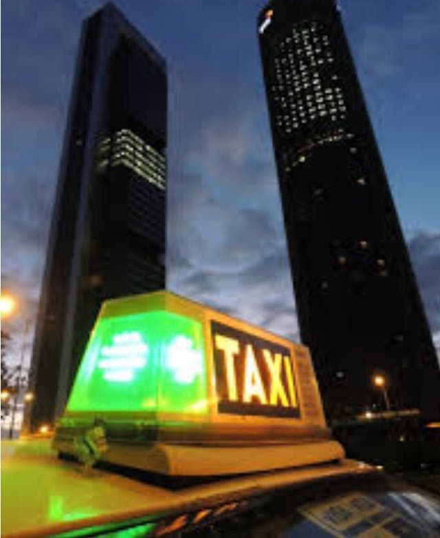 Licencia de taxi impar martes