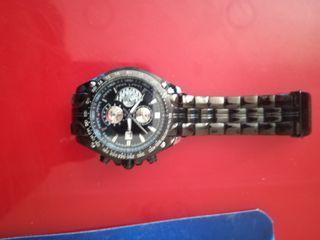 reloj de hombre negro