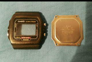 carcasa reloj casio w-720