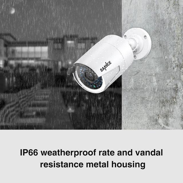 Kit de 4 Cámaras de Vigilancia Seguridad 1920x1080