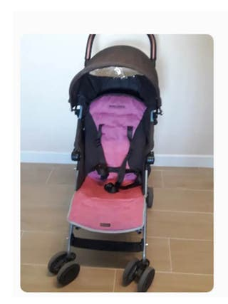 Silla de paseo reclinable maclaren de segunda mano en wallapop for Oferta silla paseo maclaren