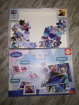 Frozen SuperPack 4 en 1