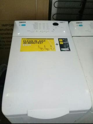 lavadora de carga superior zanussi 6kg