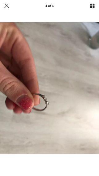 Sliver ring size 52 comes