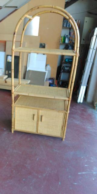 mueble de mimbre