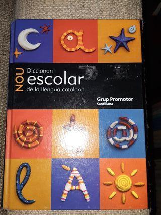 Diccionari escolar de la Llengua Catalana .