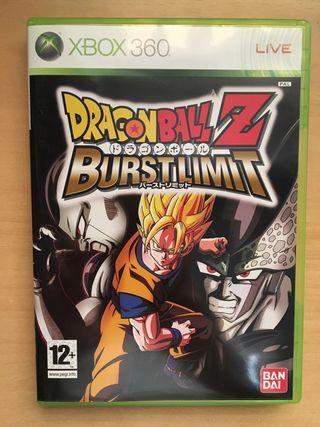 DragonBall Z BurstLimit XBOX
