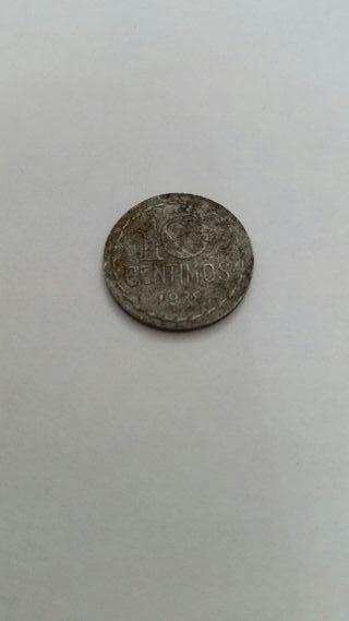 10 céntimos 1938