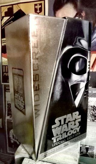 Cintas Vhs Star wars edición coleccionista