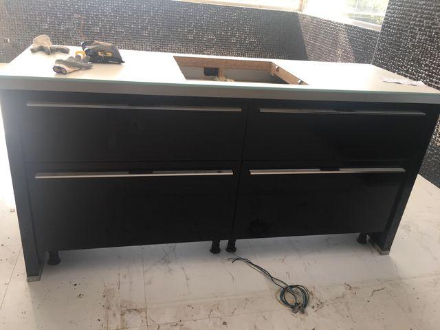Muebles cocina a estrenar precio de compra 4600 € de segunda mano ...