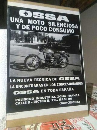 publicidad Ossa 250 TE