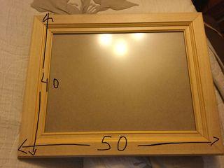 Marcos de cuadro, fotografía o espejo. Lote 6€