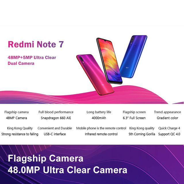 8dd626260 Xiaomi Redmi Note 7 16 cm (6.3