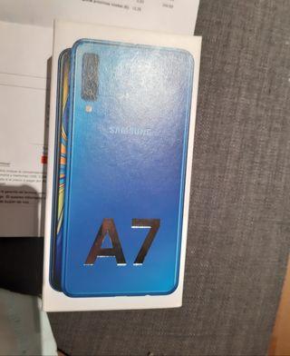 A7 color Blue