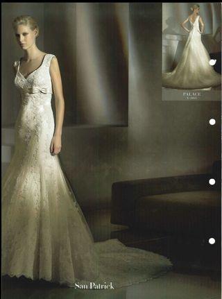 00e17a643 Vestido de novia Pronovias de segunda mano en WALLAPOP