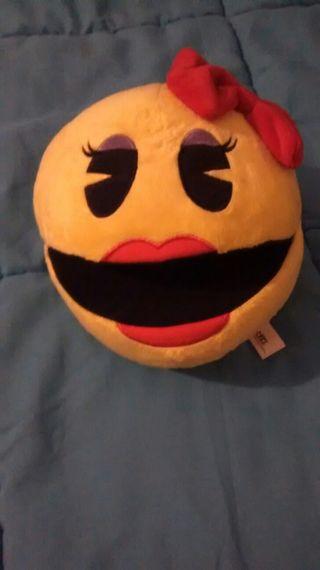peluche nuevo Pac-man, chica