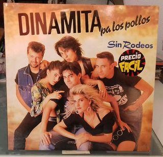 Disco vinilo DINAMITA PA LOS POLLOS,SIN RODEOS.