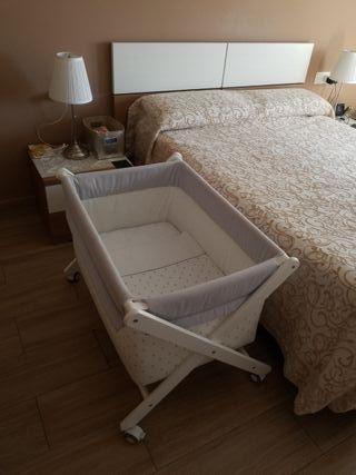 Minicuna con colchón