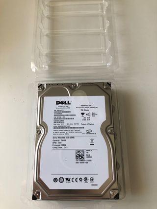 Disco duro SAS SCSI 750 GB DELL Barracuda SCSI