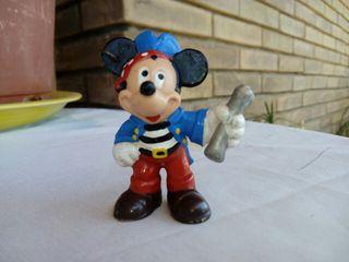 mickey mouse figura pvc pirata DISNEY