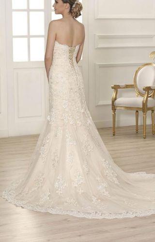 38c9d98a184 Vestido de novia de segunda mano en Badajoz en WALLAPOP