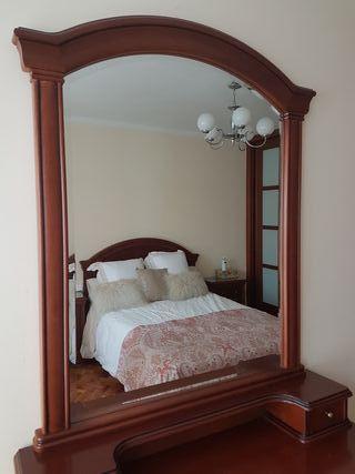 dormitorio completo mesilla cabecero comoda