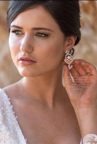 Pendientes de novia , Invitada , madrins joyas