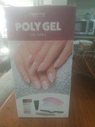 Kit de uñas acrilicas polygel
