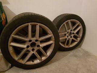 """4 llantas exeo 17""""con neumáticos 225-45-17"""