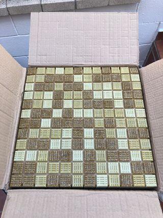 Planchas de gresite. 25x25cm
