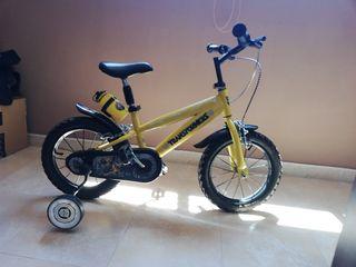 bicicleta niño 14''
